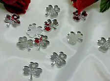 Personalised Shamrock Wedding Favours x50 Table Decorations Scatters Mr & Mrs