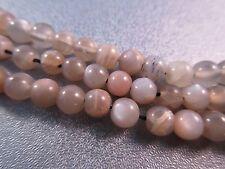 Grey Moonstone 4mm Beads 72pcs