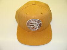 Toronto Raptors Cap Hat Snapback Basketball Adidas Yellow Gold OSFM NBA New Logo