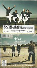CD - TRYO : CE QUE L' ON SEME / COMME NEUF - LIKE NEW