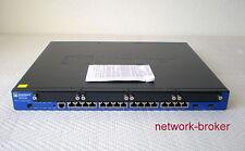 Juniper SRX240H Services Gateway w. 16 GbE ports 4 Mini-PIM slots 1GB R 1GB F