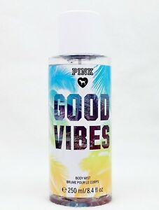 1 VS Pink GOOD VIBES Fine Fragrance Body Mist