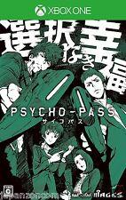 Used XBOX ONE PSYCHO PASS  MICROSOFT XBOX ONE  JAPANESE  IMPORT