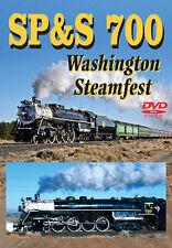 SP&S 700 Washington Steamfest DVD NEW Greg Scholl Yakima Portland to Pasco