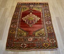 Gorgeous 1940 Antique Highly Collectible Ghiordes/Gordes Handmade Rug 4ft X6ft