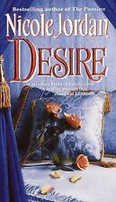Desire by Nicole Jordan (2001, Paperback) DD971