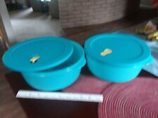 New listing Tupperware Crystal Wave microwaveable bowls- 4 qt!