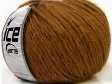 Peru Alpaca Bulky Yarn - Golden Brown #35430 Ice 50g Merino Wool Alpaca Acrylic