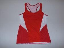 Scott Sports Women's Sleeveless Tank Cycling Jersey Red Size 4-6 New