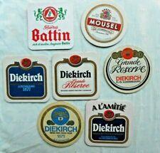 Lot 7 sous bocks Luxembourg, Diekirch, Moussel, Battin