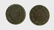 s529_93)  Swiss Cantons   TICINO 3 Soldi 1835
