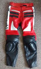 KAWASAKI    leather  Motorcycle Trousers       size  34 waist