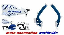 ACERBIS X-GRIP FRAME GUARDS & X-ULTIMATE HANDGUARDS HUSQVARNA FE250 FE350 2017