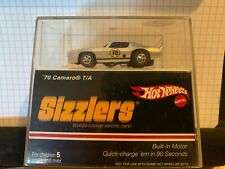 2006 HOT WHEELS SIZZLERS  70 CAMARO T/A Silver NEW IN UN-OPENED DISPLAY CASE