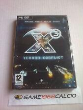 X3 X 3 TERRAN CONFLICT (PC DVD-ROM) NUOVO SIGILLATO NEW VERSIONE ITA
