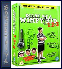 DIARY OF A WIMPY KID - COMPLETE 1 2 & 3  *BRAND NEW DVD BOXSET *