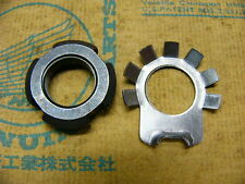 Honda CB 750 Four K0 - K2  Mutter und Sicherungsblech Nut, lock 16 mm and Washer