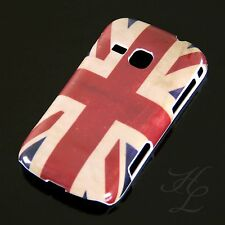 Samsung Galaxy Mini 2 S6500 Hard Case Hülle Etui Cover UK Flagge England Vintage