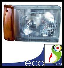 FARO FANALE ANTERIORE destro FIAT PANDA 750 dal 1986 al 2003 ARANCIO MANUALE