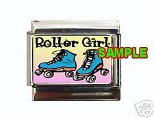 Roller Girl #1Custom Italian Charm cute! skates!