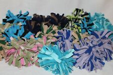 Dog Fleece Ball Set ~ Lot of 20 Homemade Toys 001BLot