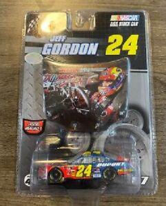 JEFF GORDON 2007 TALLADEGA RACED WINNER #24 1/64 WINNERS CIRCLE CAR W/ HOOD RARE