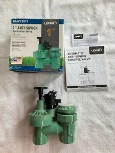 "Orbit 57624 Heavy Duty 1"" FPT Anti-Syphon Sprinkler Valve"