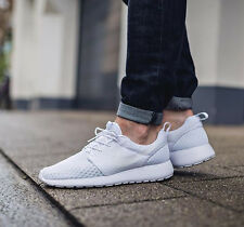 NIKE ROSHE ONE BR Breeze Running Trainers Casual - UK 11 (EUR 46) Triple White