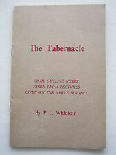 The Tabernacle - P J Widdison