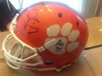 Full Size Dabo Swinney Signed Clemson Tigers Football Helmet RARE ITEM!