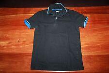 CELIO - T-SHIRT POLO manche courte en coton noir HOMME TAILLE S GARCON 13 14 ANS