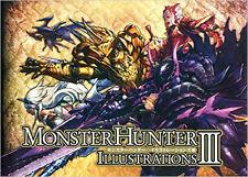 Monster Hunter illustratifs Artworks 3 artbook ** NOUVEAU