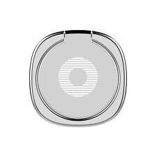 BASEUS Privity Ring Bracket Universal 360 Degree Car Mount Phone Holder Stand Silver
