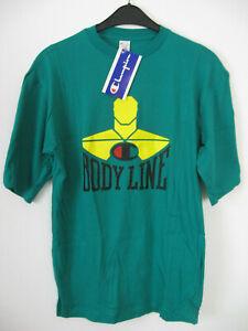 Champion  Herren  Shirt mit Brustprint  Gr. XL grün