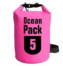 5L Ocean Pack Waterproof Dry Bag - Pink