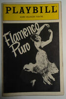 FLAMENCO PURO - PLAYBILL - NOVEMBER 1986