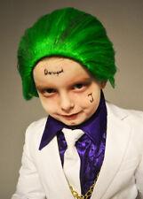Childrens Suicide Squad Green Joker Wig