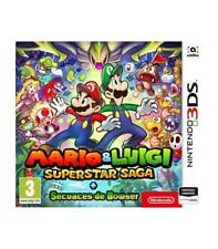 Mario &amp Luigi Superstar saga secuaces de Bowser 3DS compatible Nintendo 2D