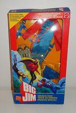 Mission pack tenue plongeur poupée mannequin BIG JIM 9396 Vintage MATTEL