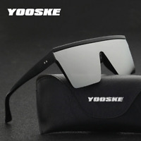 Gafas de Sol polarizada para Hombre moda Clásico Vintage Lentes cuadrado UV400