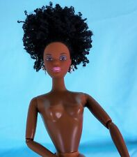 AA Black African Barbie Christie doll afro jointed elbows
