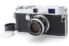 [NEAR MINT]Canon L2 35mm Rangefinder  Film Camera w/50mm F/2.8 Lens,Hood,Cap