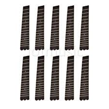 10×21'' Ukulele Fretboard Fingerboard W/15 Frets For Soprano Ukulele