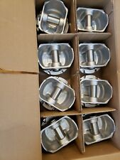 1977-1986 Ford Truck//Van//SUV 302 5.0L OHV V8 FLAT TOP PISTONS /& MOLY RINGS