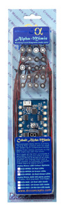 DCC Concepts DCD-MPRD Alpha-Mimic Panel Controller (with 24 Red LEDs) - T48