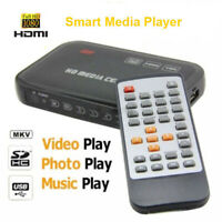 Full HD 1080P HDMI Media Player Center Multi Video Player Remote Control VGA AV