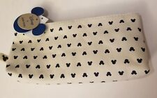 Disney by Junk Food Target Exclusive Mickey Mouse Canvas Makeup Cosmetic Bag