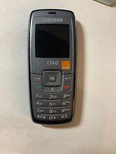 Semplice Vecchio Stile Piccolo semplice telefono cellulare Samsung C140