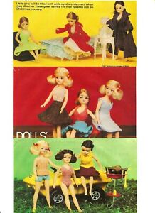 Sindy Barbie Dolls Clothes Knitting Pattern to make Mix & Match Outfits