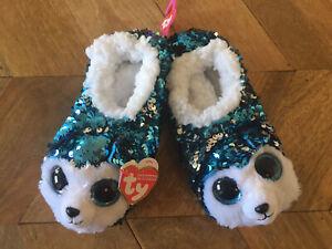 Ty - Fashion Slipper Socks - Slush- Medium 18cm - NEW